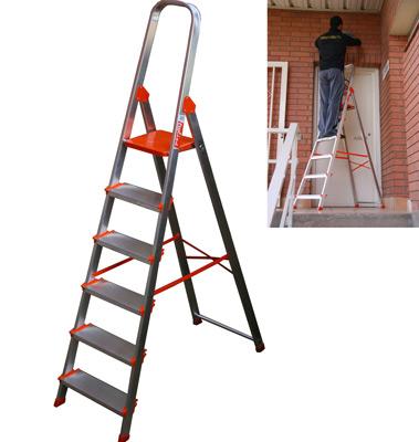 Apostando por la m xima seguridad para los trabajos en - Escaleras de trabajo ...