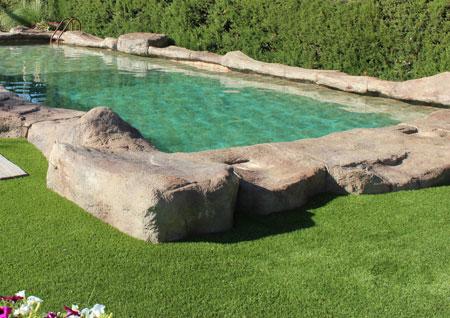 Piscinas diseos diseo jardines modernos piscina chimenea - Fabricante de piscinas ...
