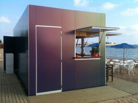 Dise o y sostenibilidad en la playa de denia for Disenos de kioscos