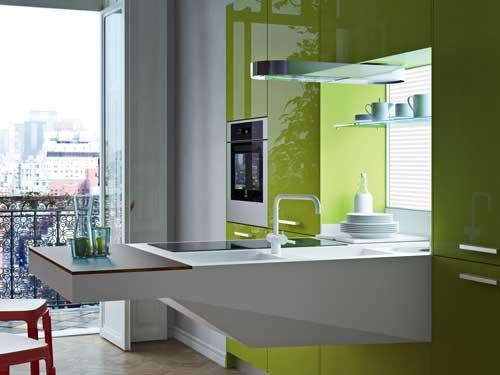 Multicentro ortiz muestra board la ltima cocina de for Cocinas practicas y funcionales