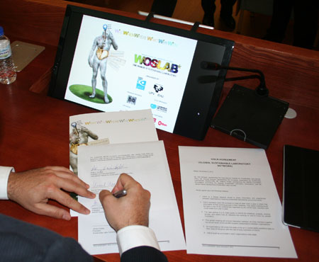 Se consolida la global sustainable laboratory network - Adelmo antelo ...