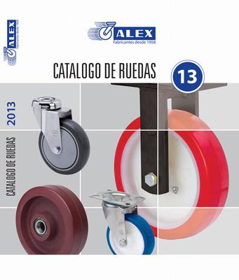 Ruedas alex presenta su nuevo cat logo 2013 en expocadena for Aspiradoras industriales leroy merlin