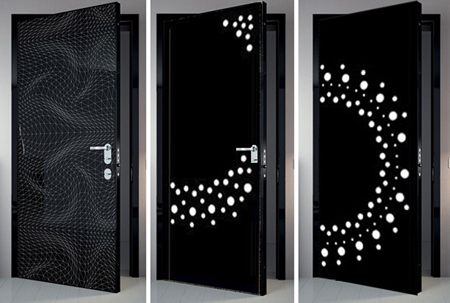Impresi n sobre madera puertas 100 digitales cerramientos y ventanas Puertas de madera decoradas