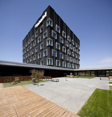 Bach arquitectes proyecta con technal la nueva sede - Banco sabadell oficina central ...