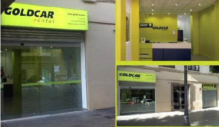 El plan de expansi n de goldcar rental pasa por valencia for Oficinas goldcar