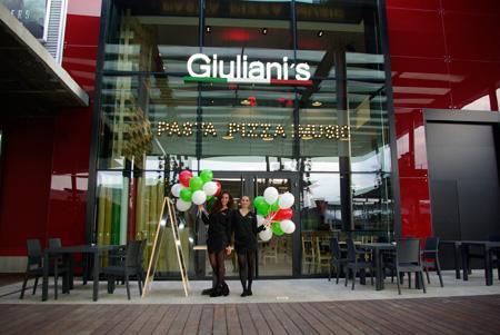 Giuliani s abre un restaurante en la maquinista - Centre comercial la maquinista ...