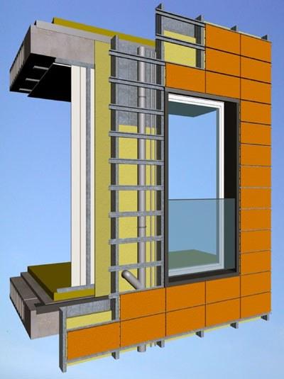 Fachadas ventiladas nuevos retos para el sector de la - Materiales de construccion para fachadas ...