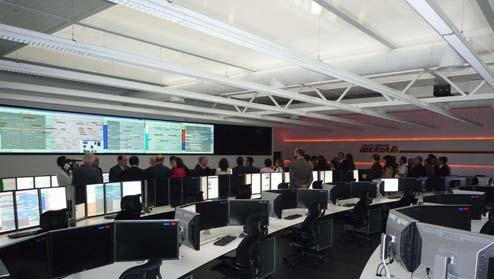 Acto de inauguración del nuevo Hub Control