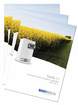 Baxiroca tarifa sistema de aire acondicionado for Tarifa roca calefaccion