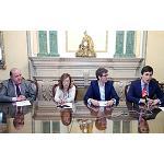 Foto de Sprilur, AAD y Gilsa firman un convenio para coordinar su oferta de suelo industrial