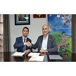 Foto de Incasòl y Bell-lloc d'Urgell firman un convenio para facilitar la comercialización de Vinyes del Mig