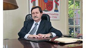 Foto de Entrevista a José María Castillero, presidente de la Cámara Oficial Española de Comercio de Chile y gerente general del Grupo Inzamac Chile