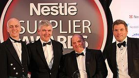 Foto de Norbert Dentressangle recoge el prestigioso Premio Proveedor Nestl�