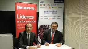 Foto de Anfapa e Interempresas Media firman un convenio de colaboraci�n