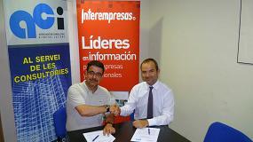 Foto de La Associació de Consultors d'Instal·lacions e Interempresas Media firman un convenio de colaboración