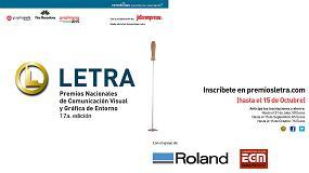 Foto de Nueva convocatoria de los Premios Letra
