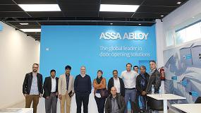 Foto de Arquitectos de Oriente Medio visitan las instalaciones de TESA Assa Abloy