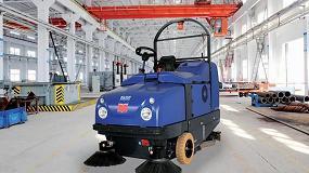 Picture of Dulevo Boost Bombi, nueva barredora y fregadora para entornos industriales y urbanos