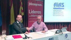 Foto de Interempresas Media y AIAS firman un acuerdo de colaboración