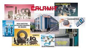Foto de Calamit presenta su oferta en imanes y sistemas magn�ticos en la BIEMH 2016