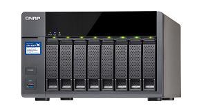Picture of QNAP lanza el TS-831X: un nuevo NAS Quad-core profesional de 8 bah�as con dos puertos 10GbE SFP+ integrados