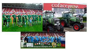 Foto de Fendt participa en el Campeonato Europeo de Futbol de Viticultores