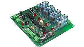 Picture of Receptor avanzado RF para control inal�mbrico de 4 canales / salidas