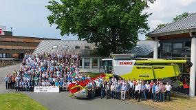 Foto de La cosechadora Lexion de Claas llega a sus 50.000 unidades