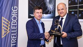 Foto de El TM1060 de Trelleborg, premiado como 'Neumático Agrícola del año 2016' en España