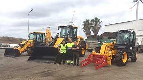 Foto de Las máquinas JCB gestionarán la valorización de residuos en la isla de Menorca