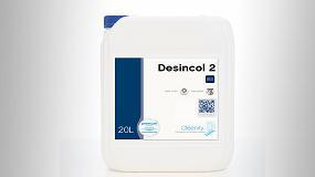 Picture of Cleanity presenta Desincol 2, un desinfectante sin amonios para superficies no aptas para productos acuosos