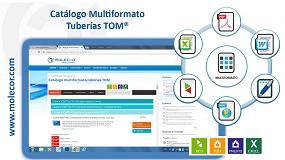 Foto de Molecor presenta su catálogo multiformato tubería TOM