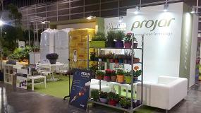Foto de Projar muestra un nuevo catálogo de sustratos profesionales y su gama de productos ecológicos certificados