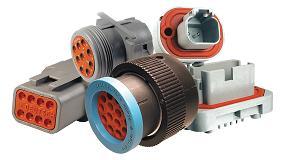 Foto de RS Components distribuye la gama de conectores de Deutsch Industrial Vehicle