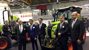 Foto de Nexos, la nueva generación de tractores especialistas de Claas