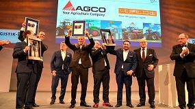 Foto de AGCO logra el premio nacional por su sistema de gestión de cadenas de suministro 'AGCO Smart Logistics'