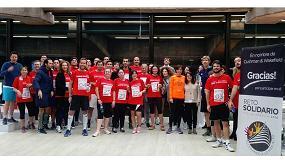 Foto de Cushman & Wakefield celebra su carrera vertical solidaria por los niños de Vallecas