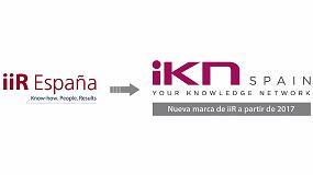 Foto de iiR se denominará iKN Spain a partir de 2017