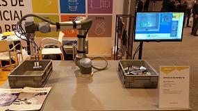 Foto de Universal Robots en Robomática 2016: un reflejo de su expansión en el mercado español