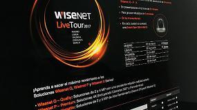 Picture of Hanwha Techwin presenta Wisenet Live Tour 2017