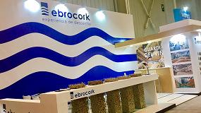 Foto de Ebrocork refuerza su imagen en Enomaq