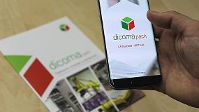 Foto de La realidad virtual, presente en Enomaq a través de la visualización de la maquinaria industrial de Dicoma Pack