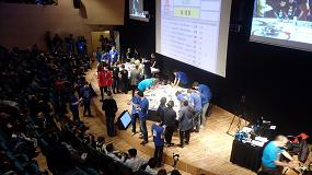Foto de 600 participantes de First Lego League se reúnen en CosmoCaixa
