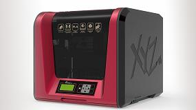 Foto de XYZprinting presenta da Vinci Jr. 1.0 Pro, impresora 3D compacta con filamento de código abierto