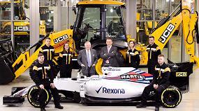 Foto de JCB firma un acuerdo estratégico con Williams Martini Racing