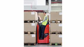Foto de Linde Material Handling lanza sus nuevos vehículos de conductor incorporado