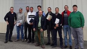 Foto de Tecnotrip recibe la visita de su distribuidor en Andalucía