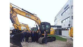 Foto de Walkia JCB entrega catorce máquinas a la Empresa de Transformaciones Agrarias (Tragsa)