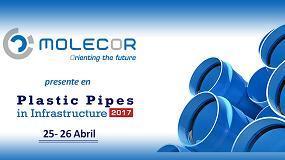 Foto de Molecor presente en la celebración de Plastic Pipes in Infrastructure 2017