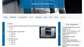 Foto de Nuevo configurador online de subracks de Heitec para la familia HeiPac